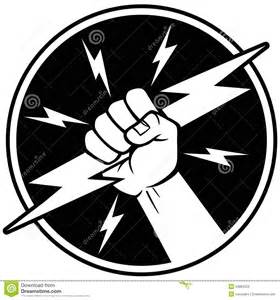 Electrician Logos Clip Art Black and White