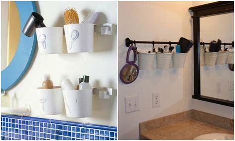 ideas geniales  ordenar tu cuarto de bano