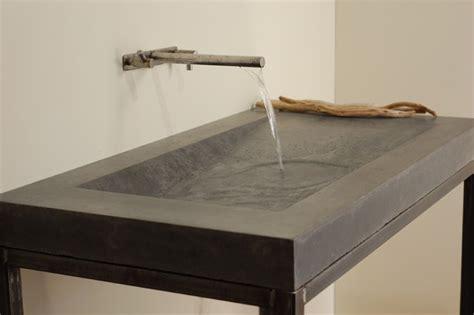designer bathroom sink concrete alpine sink modern bathroom sinks miami