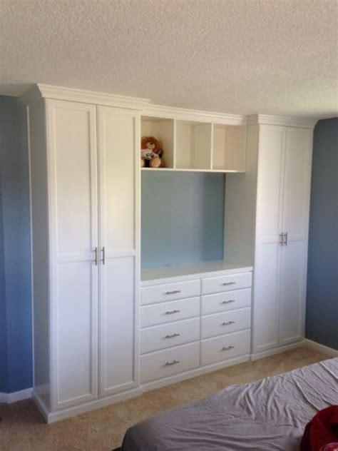closet  tv cabinet   bedroom cute build