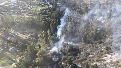 Incendio Consumió Más De 50 Hectáreas En Santo Domingo