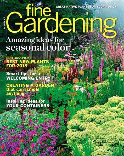 Garden Magazine by Finegardening Finegardening