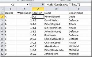 Clusters And Workstations Linked To Excel Using Visio