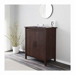 Brusali Ikea Schrank : brusali armoire avec portes brun 80 x 93 cm salon armoire decoration salon et maison ~ Orissabook.com Haus und Dekorationen
