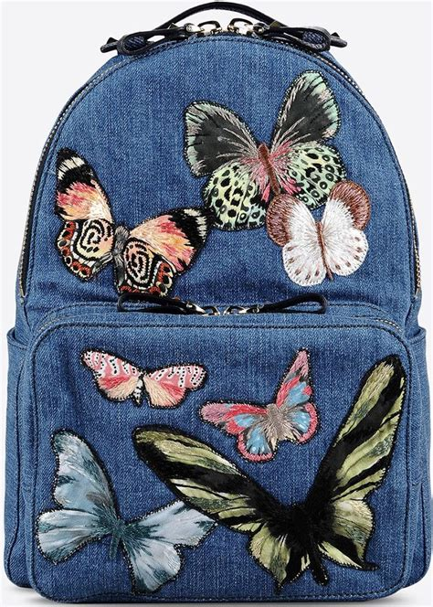 valentino denim butterfly bag collection bragmybag