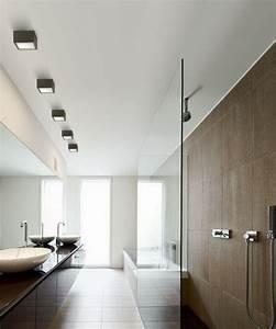 Deckenleuchte Bad Led : badezimmer deckenleuchte 53 beispiele und planungstipps ~ Markanthonyermac.com Haus und Dekorationen