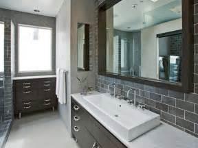 grey tile bathroom ideas choosing a bathroom backsplash hgtv