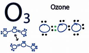 O3 Lewis Structure - How to Draw the Dot Structure for O3 ...