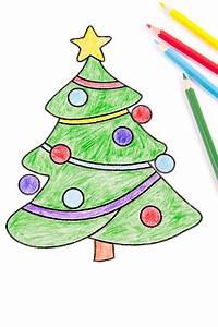Disegno Di Un Albero Di Natale Fotografia Stock Immagine di decorazione, stella: 63186684