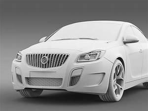 Buick Regal GS 2011 2013 3d Model Vehicles 3d Models Higt