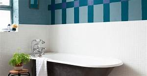 peindre le carrelage d39une salle de bain conseils et astuces With peindre le carrelage d une salle de bain