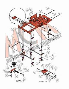 Bad Boy Mower Part  2016 Compact Outlaw Deck Lift  U0026 Idler