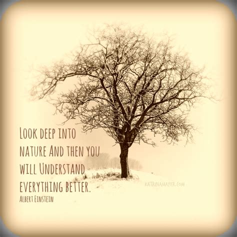 Look Deep Into Nature