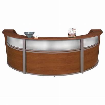Desk Clipart Reception Furniture Office Desks Clip