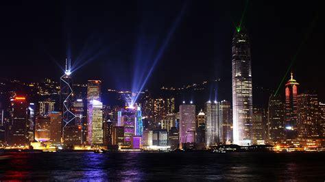hong kong skyline wallpapers hd wallpapers id