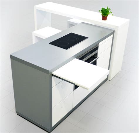 Alicante Kitchen With Dynamic Desig by Dynamic Kitchen From Cozy To Comprehensive Yanko Design