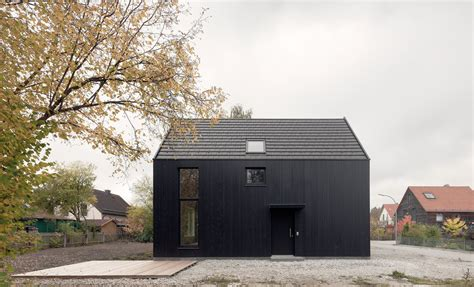 Moderne Häuser Schwarz by Schwarze Doppelung H 228 User Haus Architektur Fassade