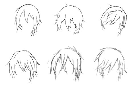 Anime Boy Hairstyle by My Memories How To Draw Anime