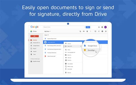 docusign secure electronic signature chrome web store