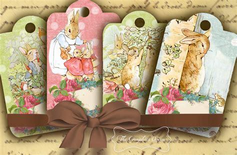 peter rabbit jewelry holders cover    digital