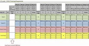 awesome spreadsheet that autofills your lifting weights With 531 program template