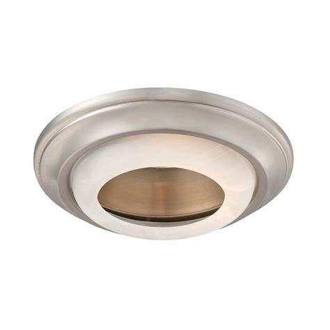 6 inch recessed lighting trim minka lighting 6 inch brushed nickel recessed light trim