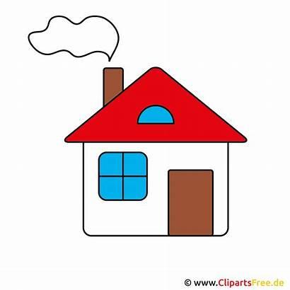 Haus Bild Clipart Comic Gratuit Ev Clip