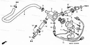 Honda Motorcycle 2004 Oem Parts Diagram For Thermostat