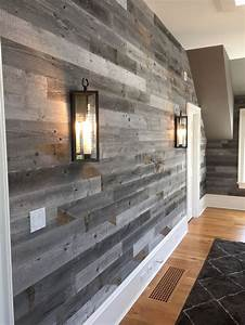 Best 25 wood panel walls ideas on pinterest wood walls for Best brand of paint for kitchen cabinets with reclaimed wood art wall