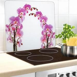 Credence Plaque De Cuisson : protection murale orchid e protection plaques de cuisson ~ Dailycaller-alerts.com Idées de Décoration