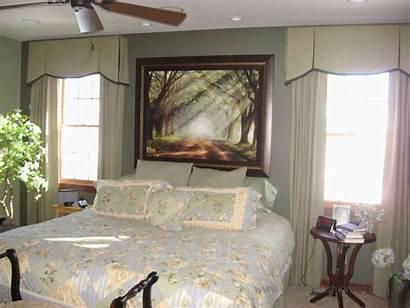 Bedroom Master Window Treatments Bath Bed Wall