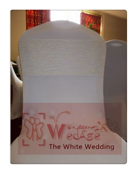 100pcs lace chair sashes for weddings chair bow size 7
