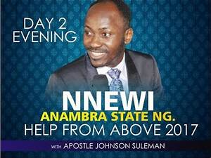 NNEWI - ANAMBRA STATE OUTREACH, LIVE BROADCAST WITH ...