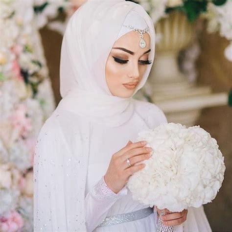 pin  asiah  muslim bridal hijabniqabbridesmaids