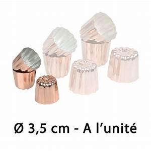 Mini Cannelés Bordelais : moule pour mini cannel s bordelais en cuivre 35mm ~ Nature-et-papiers.com Idées de Décoration