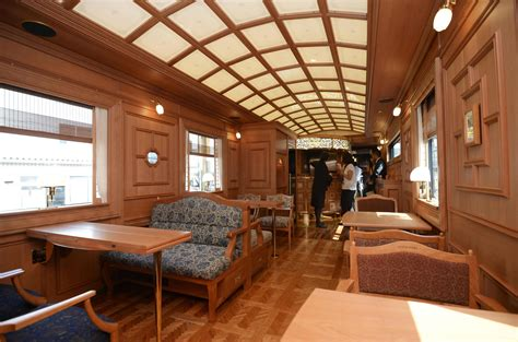 Jr Kyushu Shows Off New Luxury Train  The Japan Times