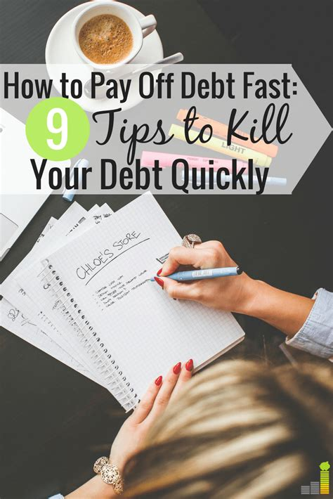 Read this quick and easy guide on how to do this here. 9 Ways to Pay off Debt Faster This Year - Frugal Rules