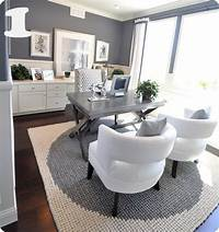 perfect office color ideas black and white 23 Sensational Home Offices {inspiration} - Picklee