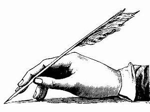 goose quill pen Jane Austen's World