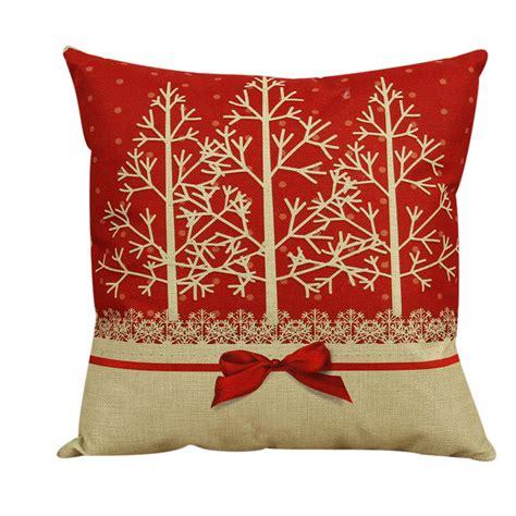 coussin décoratif pour canapé pas cher vintage de noël décoratif housse de coussin