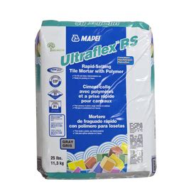 mapei thinset shop mapei gray powder polymer modified thinset mortar at lowes com