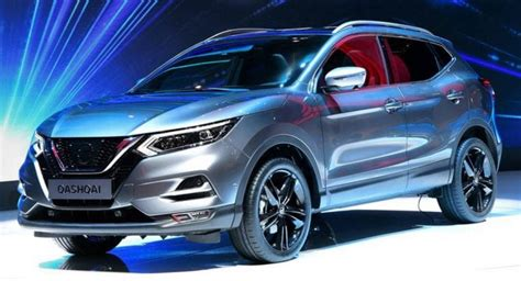 facelifted  nissan qashqai presented