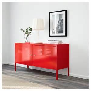 Armoire Acier Industriel by Ikea Ps Cabinet Red 119x63 Cm Ikea