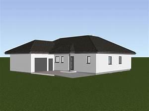 Bungalow Mit Garage Bauen : haustyp comfort 125 w hartl haus ~ Lizthompson.info Haus und Dekorationen