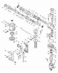 Spares For Makita Hr2510 Ssd