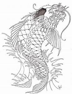 dragon koi by xcjxedge on DeviantArt