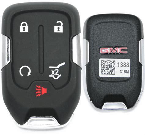 gmc acadia smart keyless  start remote