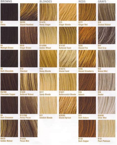 All Hair Colour Shades by Best 25 Hair Color Names Ideas On Color Names