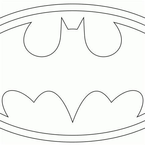 Kleurplaat Batman Logo Ideen Over Kleurpaginas Voor