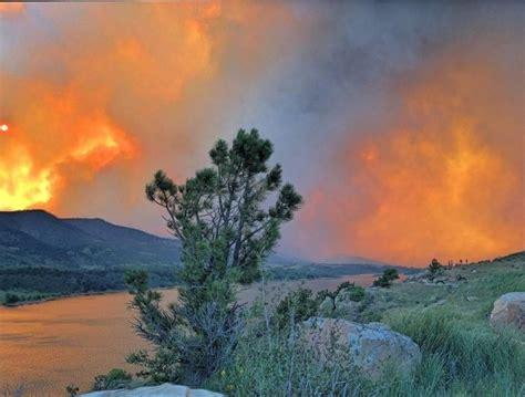 horsetooth reservoir  fire  high park fire